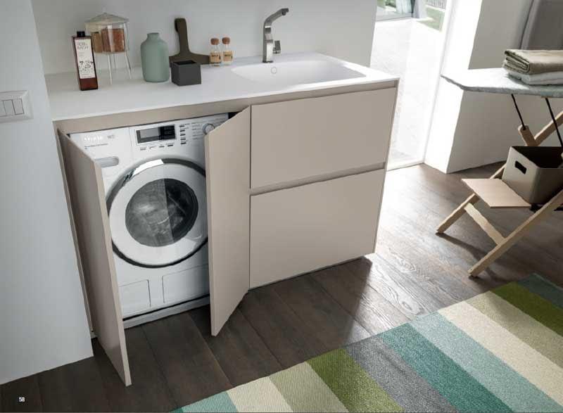 lavatrice nascosta