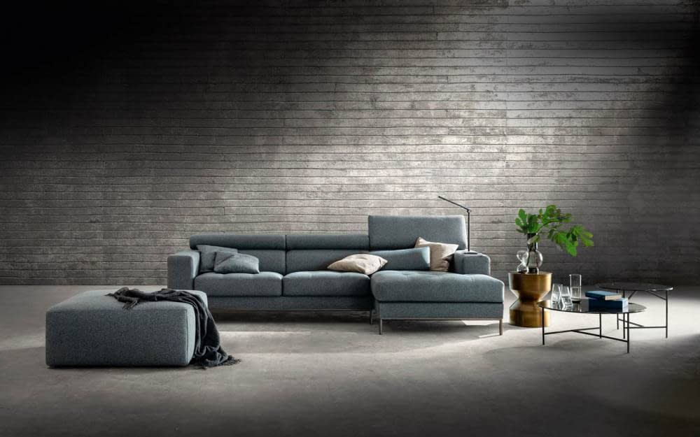 divano poggiatesta reclinabili
